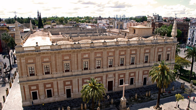 "Tres siglos de ""cartas de ultramar"" se reúnen en Archivo de Indias de Sevilla"