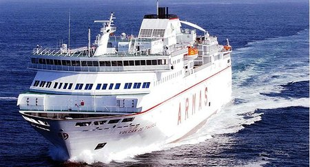 Fred. Olsen Express y Baleària incorporarán en verano el smart ship Abel Matutes para la ruta Huelva-Canarias