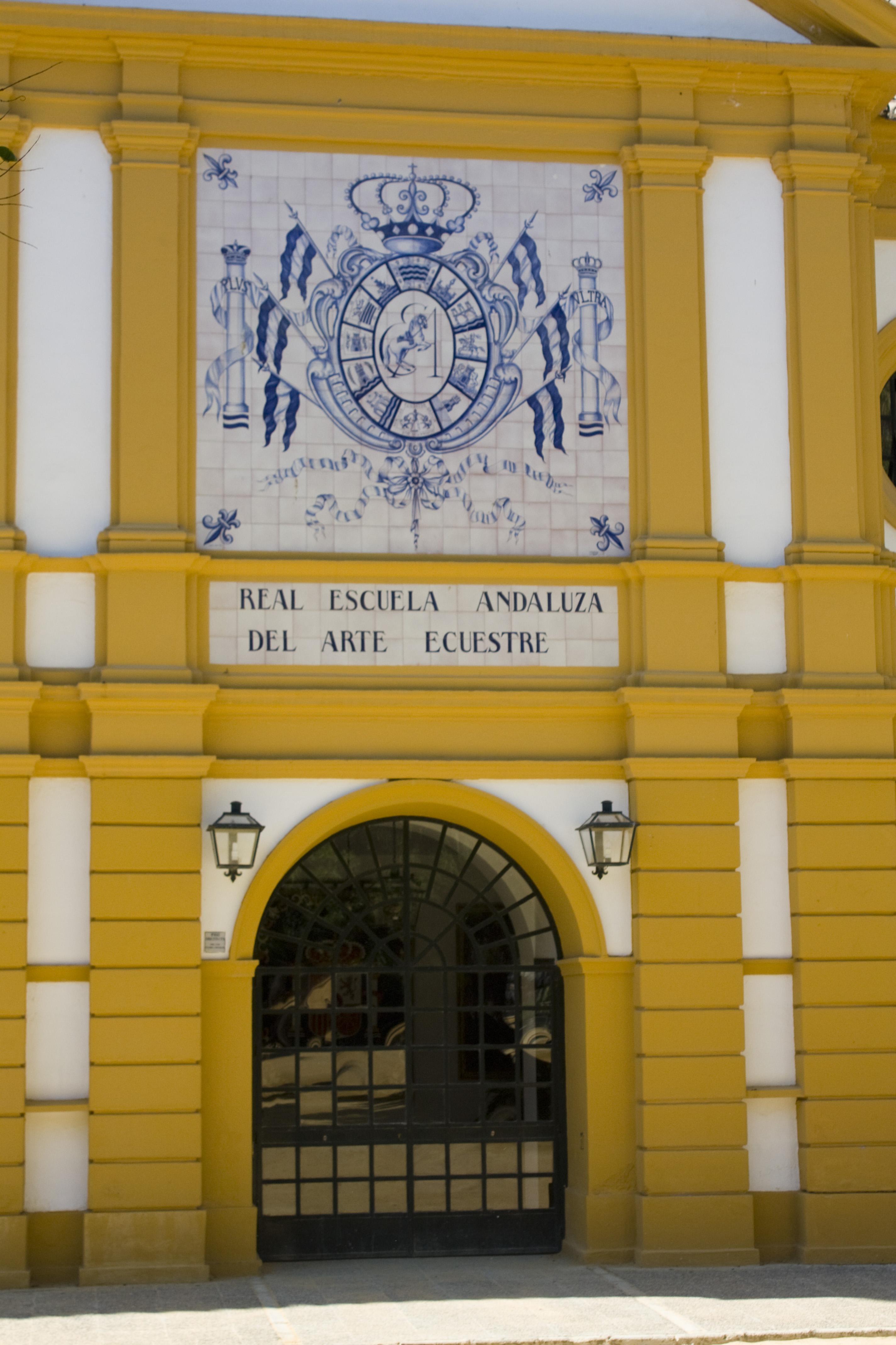 LA ESCUELA ECUESTRE AUMENTA SUS ESPECTÁCULOS EN LA FERIA DEL CABALLO DE JEREZ.