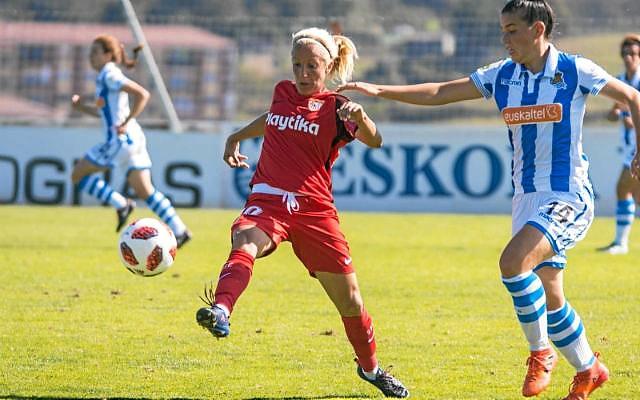 Alicia Fuentes se despedira de su Sevilla FC femenino el viernes