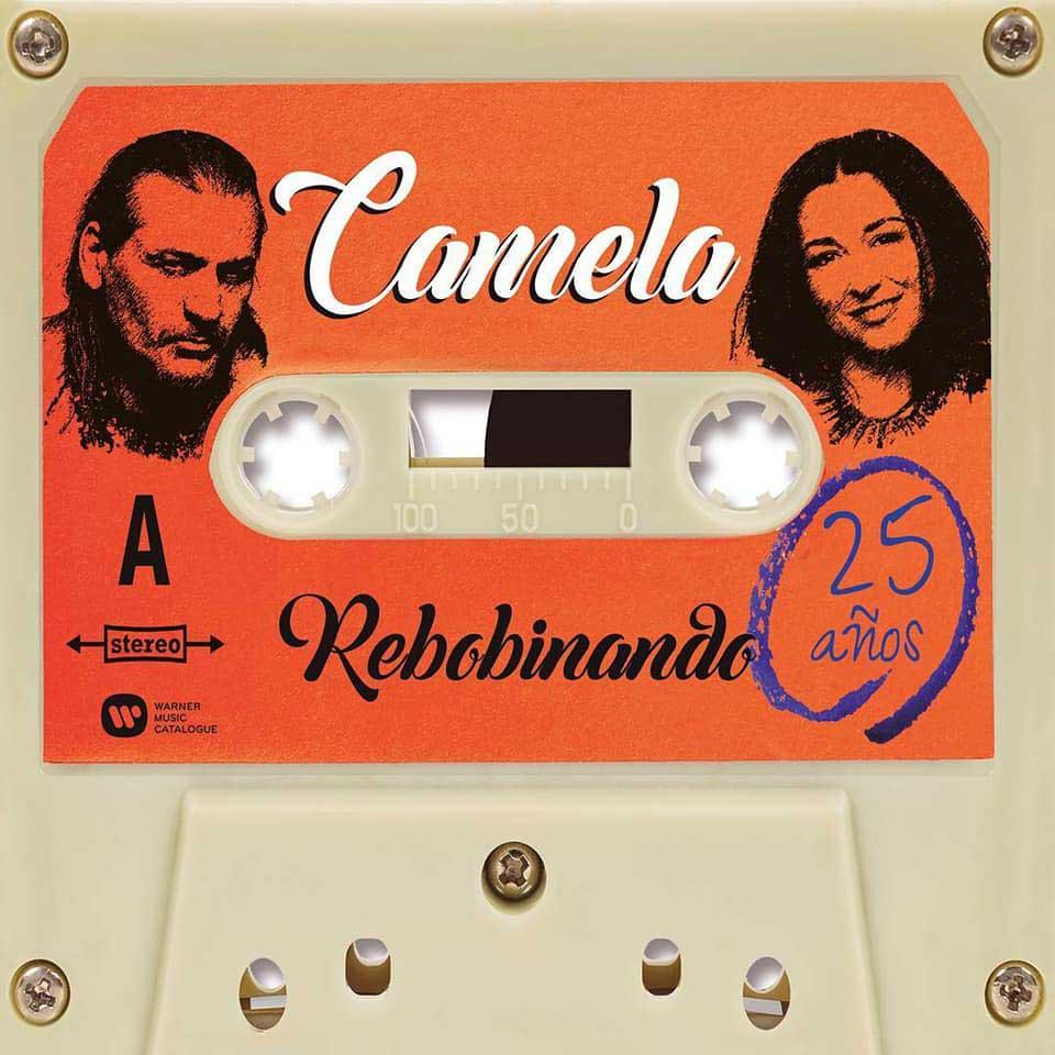 Camela ha editado un nuevo disco por el 25 aniversario titulado 'Rebobinando'