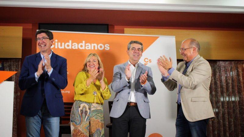 Cs se presenta en un total de 321 municipios andaluces frente a los 108 en los que se presentó en 2015