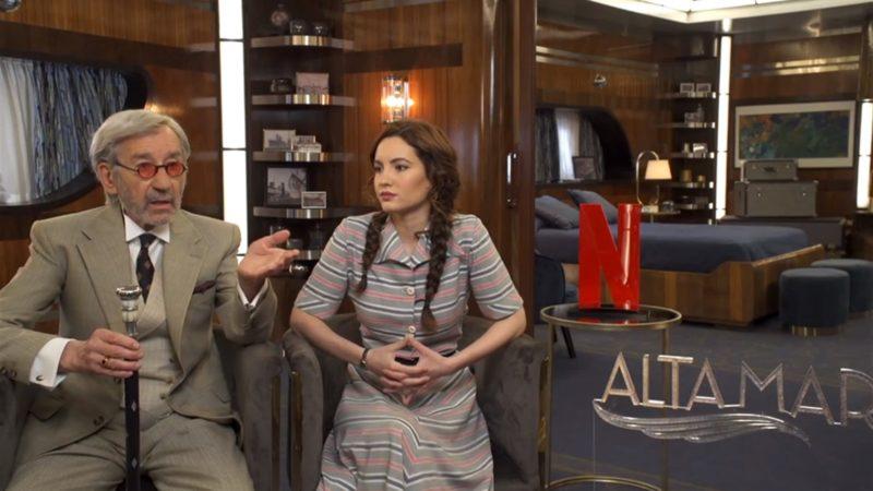 José Sacristán en 'Alta Mar' con Netflix