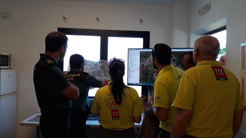 Emergencias (CREA) se suma a la búsqueda del hombre desaparecido en Mijas