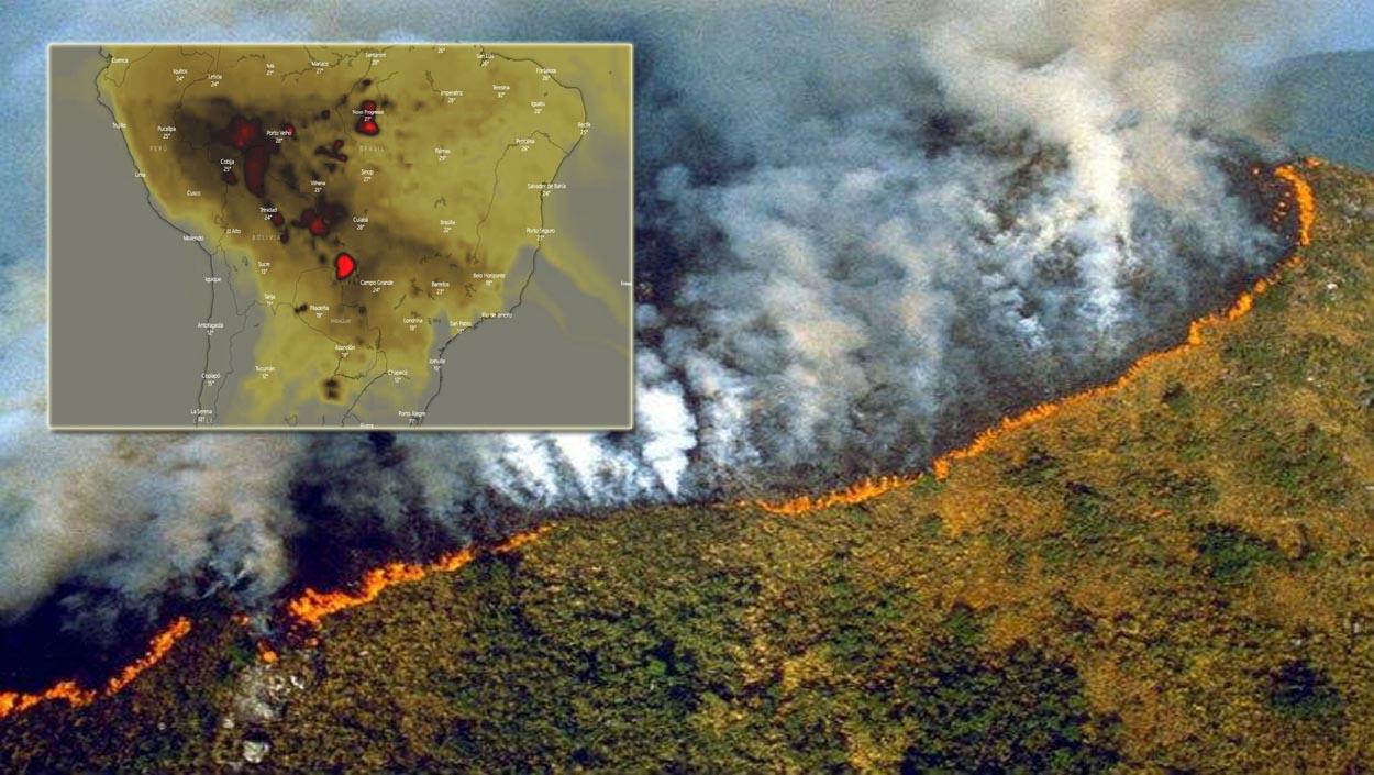 Arde la Amazonia, muere el planeta
