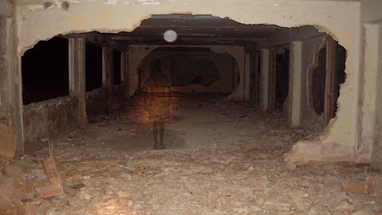La 'niña fantasma' del 'Sanatorio de los Muertos'