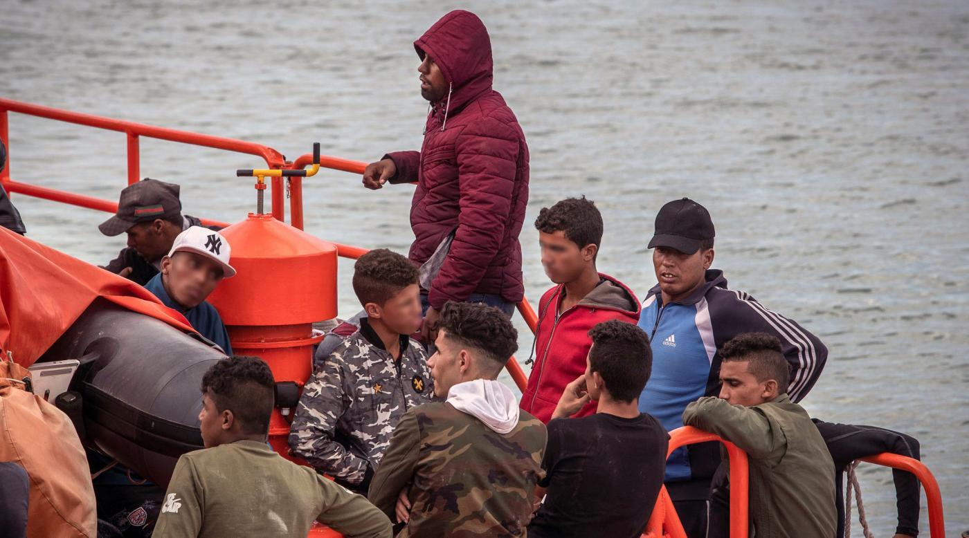 Andalucía acoge a casi la mitad de menores inmigrantes de toda España