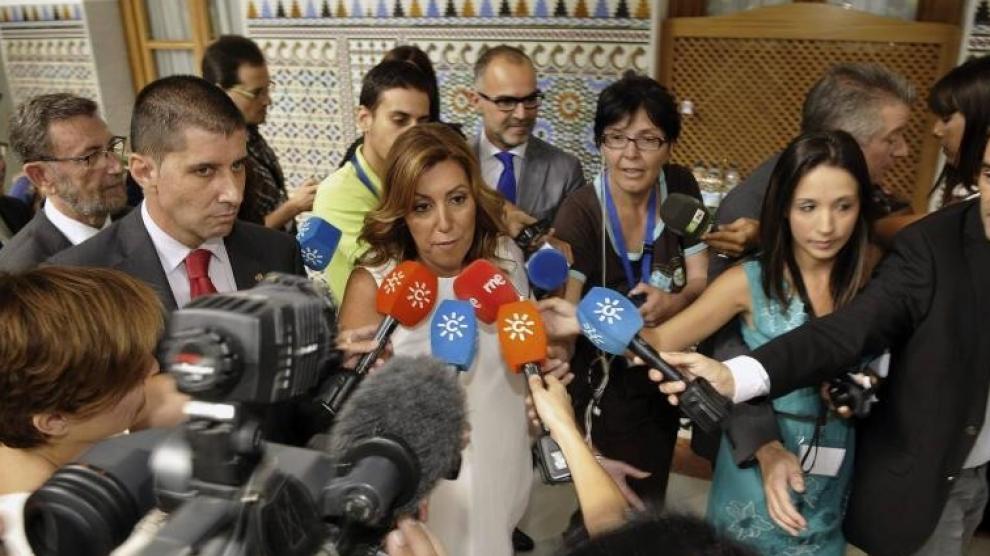 Susana Díaz dice que si de ella dependiera habría ya nuevo Gobierno en España
