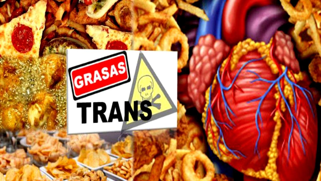 El peligro de las grasas trans en la alimentación