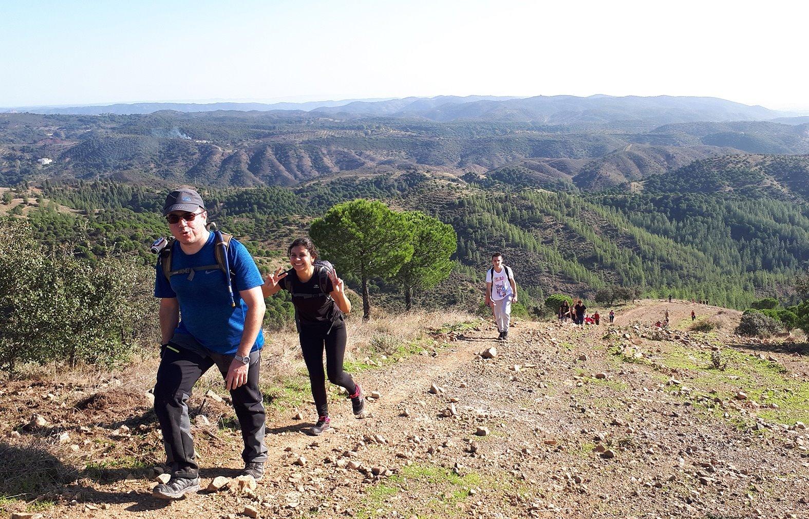 Senderismo, espeleología y escalada, entre las actividades programadas por la UJA en noviembre